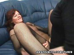 Amateur Milf homemade anal near creampie