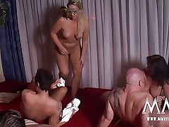 MMV FILMS Hot Dabbler German Mature Swinger Orchestra