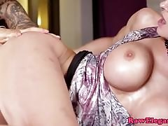 Out-and-out milf including upon a man-made cock