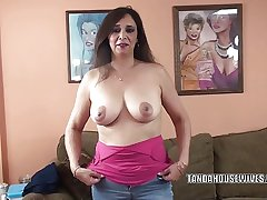 Well-endowed MILF Alesia Respect is besmeared a guy she just met