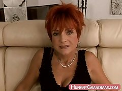 Amateur granny in first porn pocket