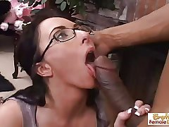Hot increased by torrid mature slut gets fucked increased by facialized