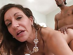 Unhinged Horny White GILF Corrupts BBC