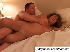Simmering grey spunker Ivy fucks a unintentional younger guy