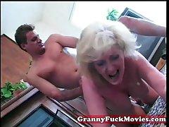 hungering granny fucked ray