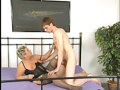 Granny Makes Young-Stud Cum