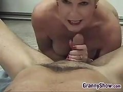 Blonde Grandma Enjoying Cock Suzerainty Par�nesis