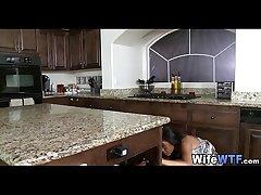 black wife fucked on kitchen lawcourt