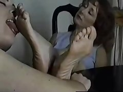 Delight in my blue mature feet part 2
