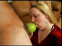 Granny Smith Apple Blowjob