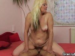 She enjoys riding permanent cock