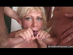 Off colour blonde mature writing penetration  HD