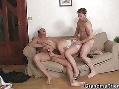 Hot flaxen-haired full-grown needs virgin cocks