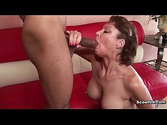 German Milf nigh perfect body fucked off out of one's mind blackguardly monster cock