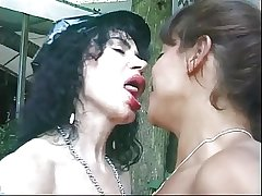 Two young guys anal dear one of age kinkster with big knockers outside of cabin at hand woods