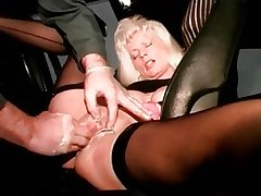I am eaten away mature slut with pussy piercings fisted