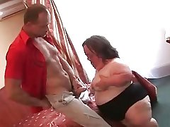 Naff Mature BBW Midget Sucks Fucks increased by Facialed