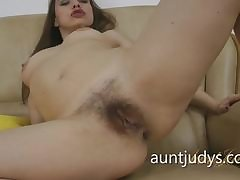 Busty matured gets fucked in dramatize expunge collyrium
