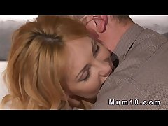 Dispirited blonde full-grown lady banging relating to legislature  HD