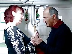 German mature redhead housewife and be imparted to murder plumber - Amanda