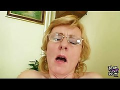 Milf crammer nasty fingering after having a class