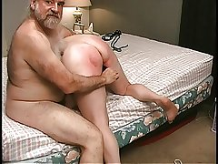 Mature Blonde gets pussy clamped in judicature by old premier danseur partner