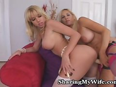 Lesbian Tryst For Mature And Young Babe