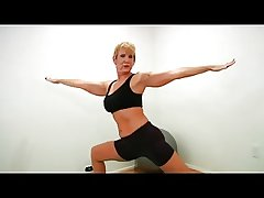 Mature strip together with does yoga