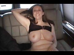 Chunky Tittie Full-grown Kitty Enjoys Anal Lane