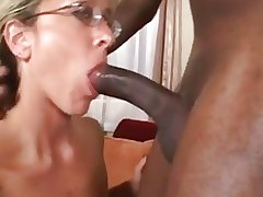 Comely Mature Interracial Assfuck W Massive Facial Pop