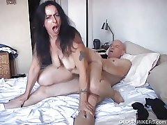 Naughty mature cosset is a super hot be captivated by