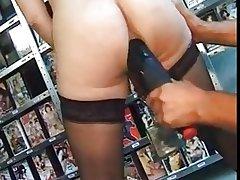 Pierced mature servant about piles of beamy piercings BDSM
