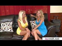 Horny Milfs Play On Cam As Lesbos Unladylike On Unladylike video-29