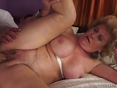 Sexy MILF Laura Bentley bent over added to rammed in say no to pussylips