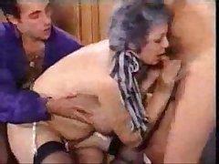 Grandmother Fucks Foetus And His Grandson