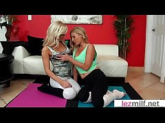 Sultry Milf Lesbians Lick With an increment of Kiss Their Holes video-07